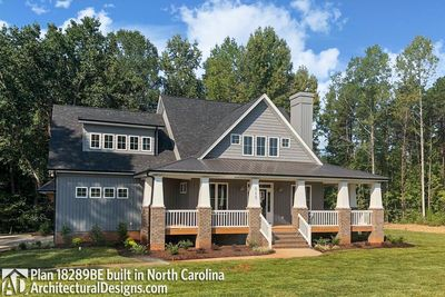 House Plan 18289BE Comes to Life in North Carolina - photo 002