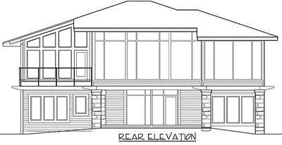 Stunning, Contemporary House Plan - 18560WB thumb - 13