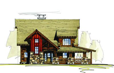 rustic lodge house plan 18715ck thumb 01