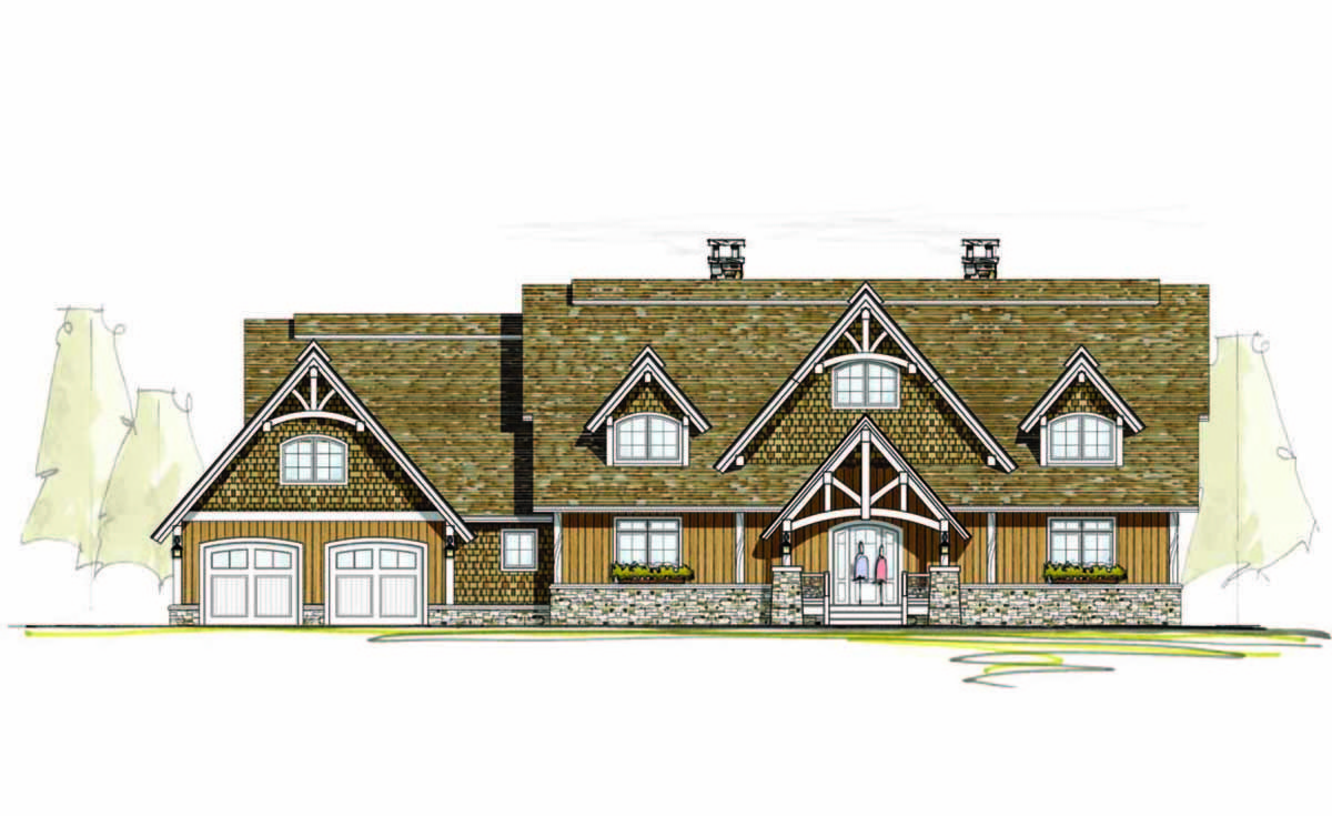 Two story great room 18780ck architectural designs for 2 story great room house plans