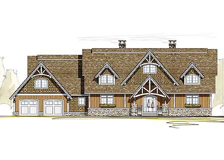 Two story great room 18780ck 1st floor master suite for 2 story great room house plans