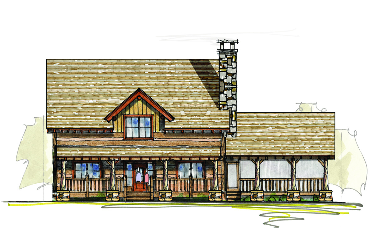 Rustic Country Home Plan 18789ck 1st Floor Master