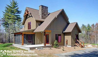 mountain craftsman with open floor plan 18799ck thumb 24 - Architectural Designs Com