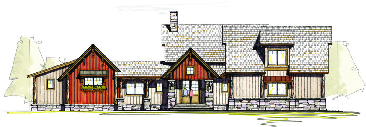 Pacific northwest camp 18803ck architectural designs for Pacific northwest home designs