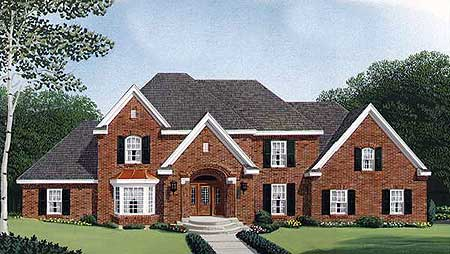 English Country Home Plan