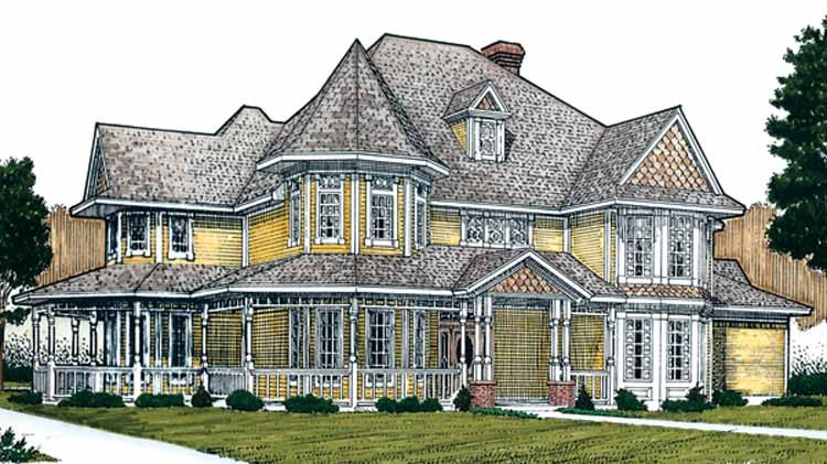 Glorious Queen Anne Victorian 19201gt Architectural