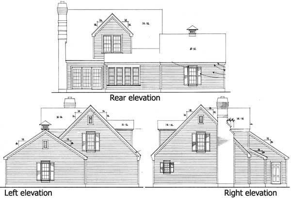 Cape cod home plan 19210gt 1st floor master suite for Cape cod house plans with loft
