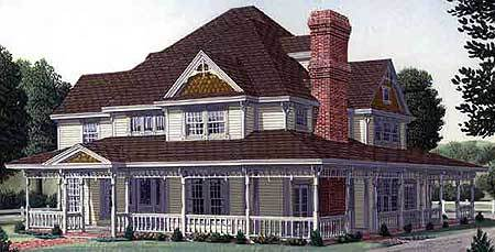 Authentic victorian touches 19226gt architectural for Authentic victorian house plans