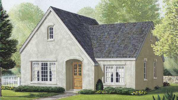 Cozy cottage home plan 19228gt architectural designs for Cozy cottage home designs