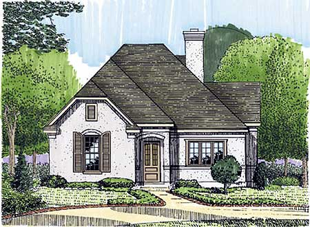intimate study 19238gt architectural designs house plans french country cottage house plans