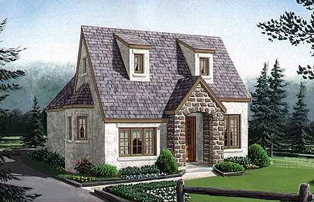 Floor River House Small English Cottage Plans Anelti Awesome