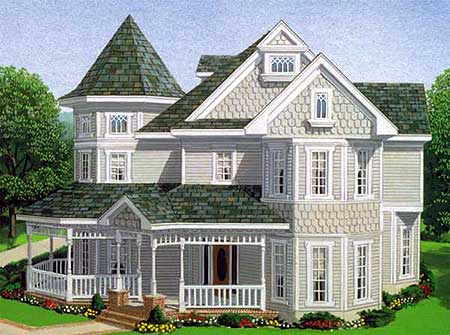 Classic victorian design 1928gt architectural designs for Original victorian house plans