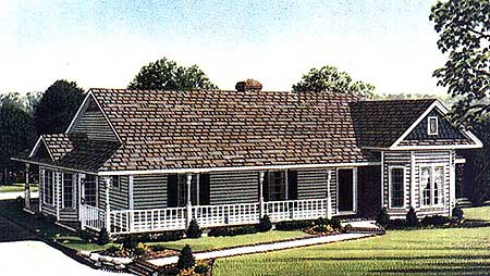 Simple country farmhouse plan 1929gt architectural designs house plans - Simple farmhouse designs ...