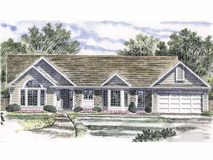 Ranch home with vaulted ceilings 19542jf architectural for Home plans with vaulted ceilings