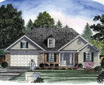 Beginner Home Plan Or Empty Nester 19578jf 1st Floor