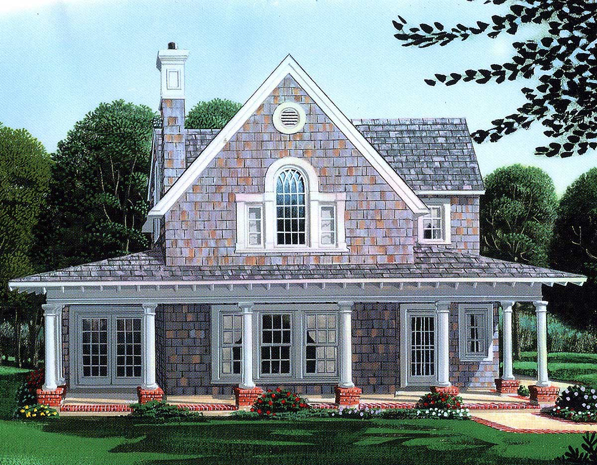 primary residence or vacation cottage 1960gt architectural designs house plans. Black Bedroom Furniture Sets. Home Design Ideas