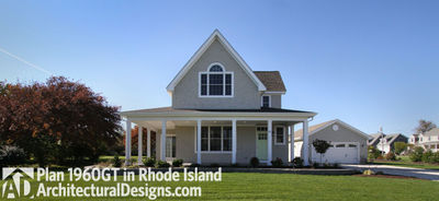 House Plan 1960GT comes to life in Rhode Island - photo 001
