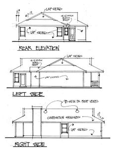 Delightful Starter House Plan - 2000GA thumb - 02