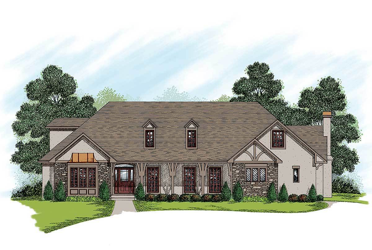 Two story traditional home plan 20027ga architectural 2 story traditional house plans