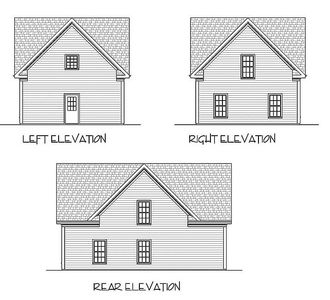3-Car Carriage House Plan - 20041GA thumb - 02