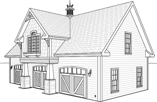 Carriage house layouts
