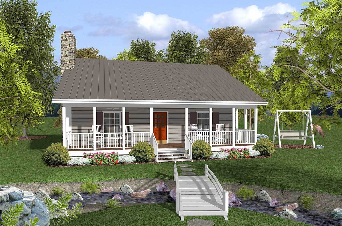 Relaxing porches 20047ga 1st floor master suite cad available country pdf southern - Summer house plans delight relaxation ...