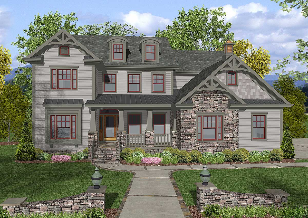 Craftsman House Plan Gem - 20050GA