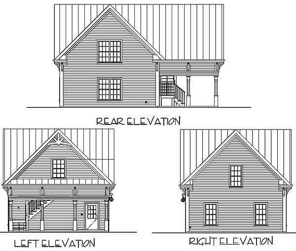 Architectural Designs Carriage House Plan 14631rk Gives: Architectural Designs