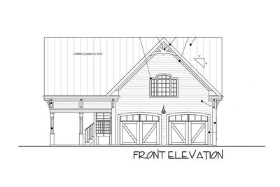 Carriage House Plan with Elbow Room - 20055GA thumb - 05