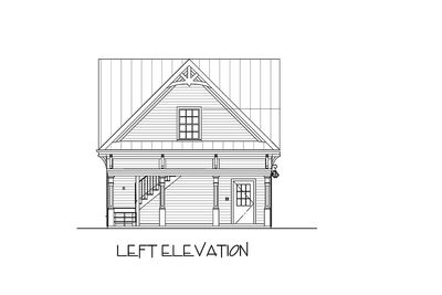 Carriage House Plan with Elbow Room - 20055GA thumb - 06