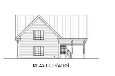 Carriage House Plan with Elbow Room - 20055GA thumb - 07