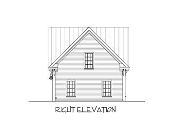 Carriage House Plan with Elbow Room - 20055GA thumb - 08