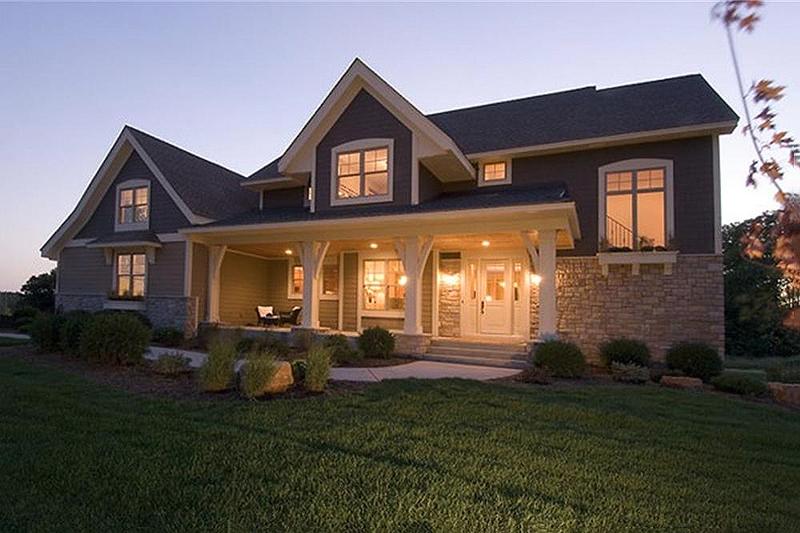 Craftsman Exterior House Design Craftsman Style 1 12 Story New