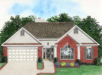 Versatile ranch 2009ga architectural designs house plans for Versatile garage floors