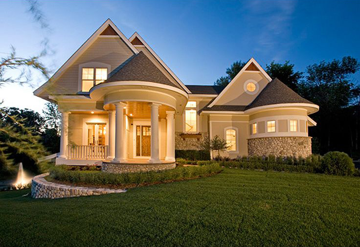 Unique home plan with photos 20094ga architectural designs house plans - Cool home builders designs ...