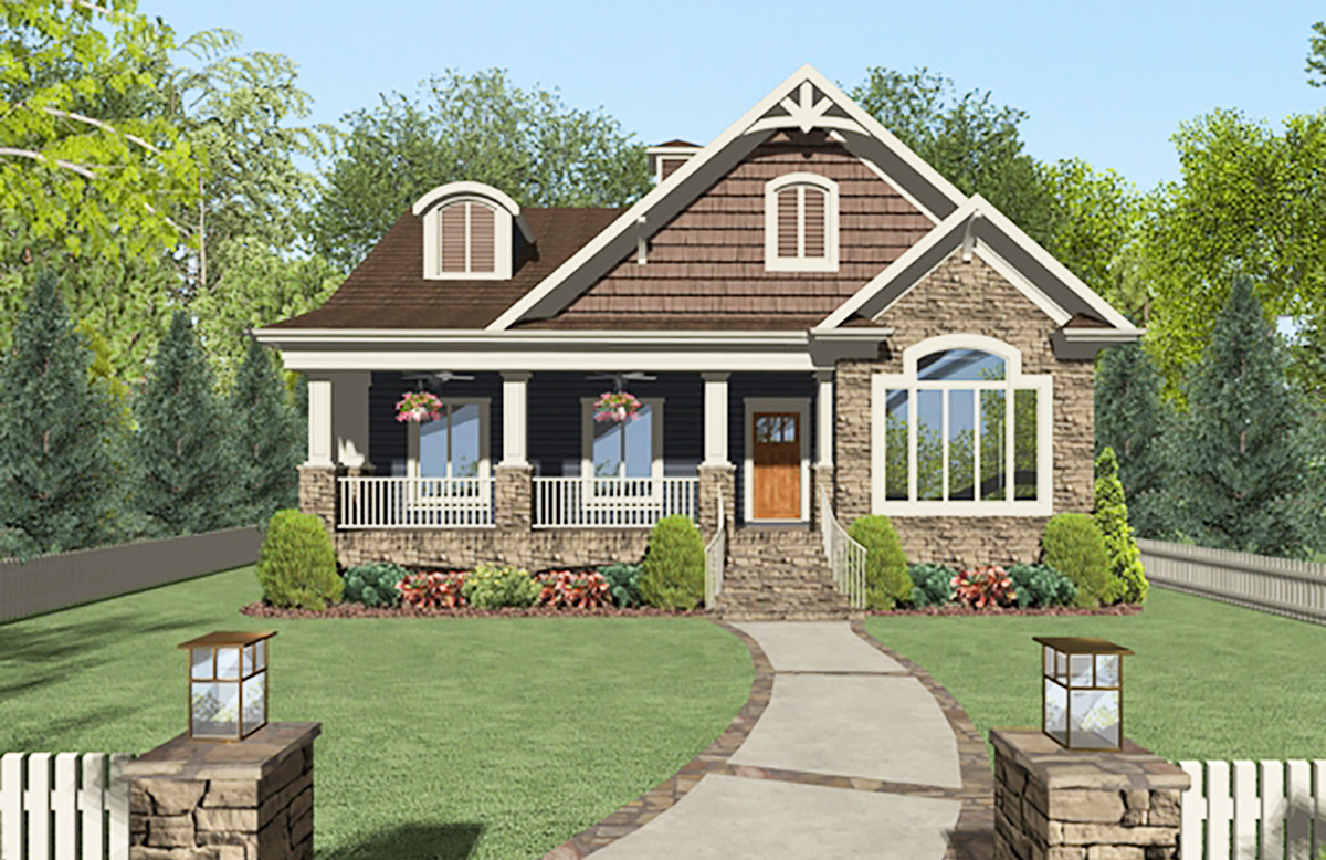Golfer 39 s dream house plan 20102ga architectural for Dream home plans