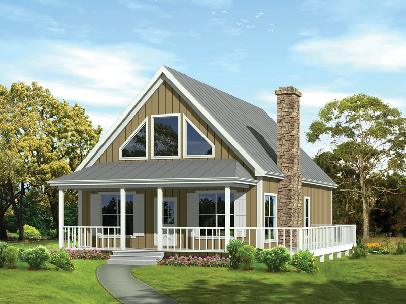 Vacation retreat 2013ga architectural designs house plans - Large summer houses energizing retreat ...