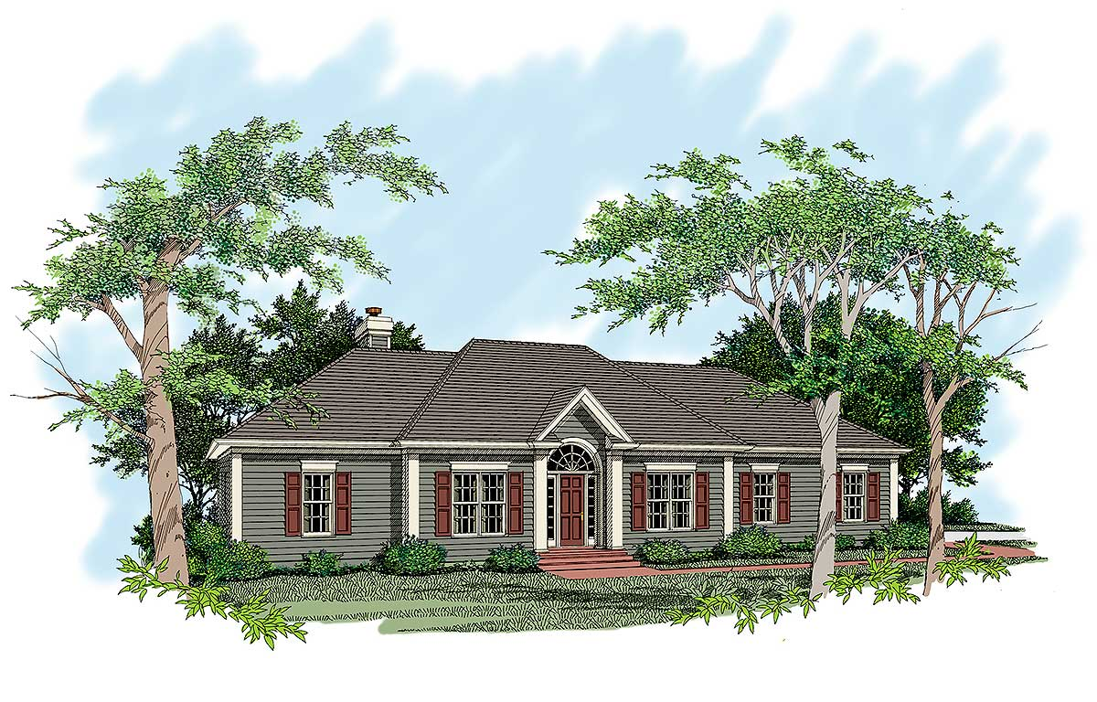 Sprawling ranch design 2019ga architectural designs for Sprawling ranch house plans