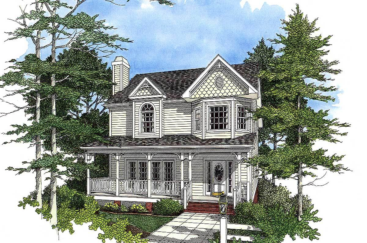 Victorian style design 2023ga architectural designs for Victorian home plans