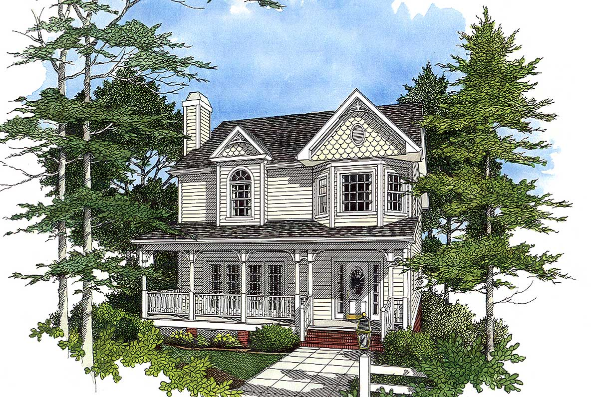 Victorian Style Design 2023ga 2nd Floor Master Suite