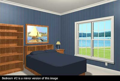 Luxurious Ranch Home Plan - 2027GA thumb - 02