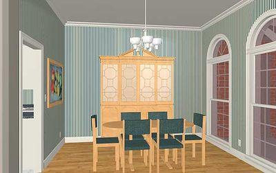Luxurious Ranch Home Plan - 2027GA thumb - 03