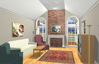 Luxurious Ranch Home Plan - 2027GA thumb - 04