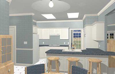 Luxurious Ranch Home Plan - 2027GA thumb - 05