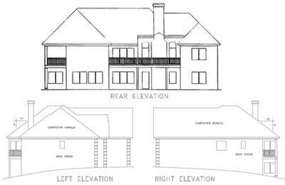 Luxurious Ranch Home Plan - 2027GA thumb - 06