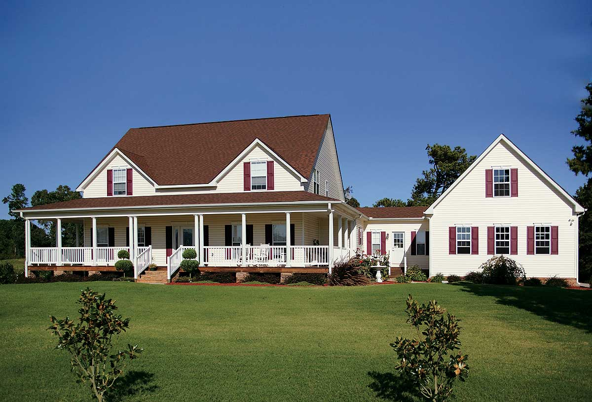 Quaint Country Home Plan - 2049GA
