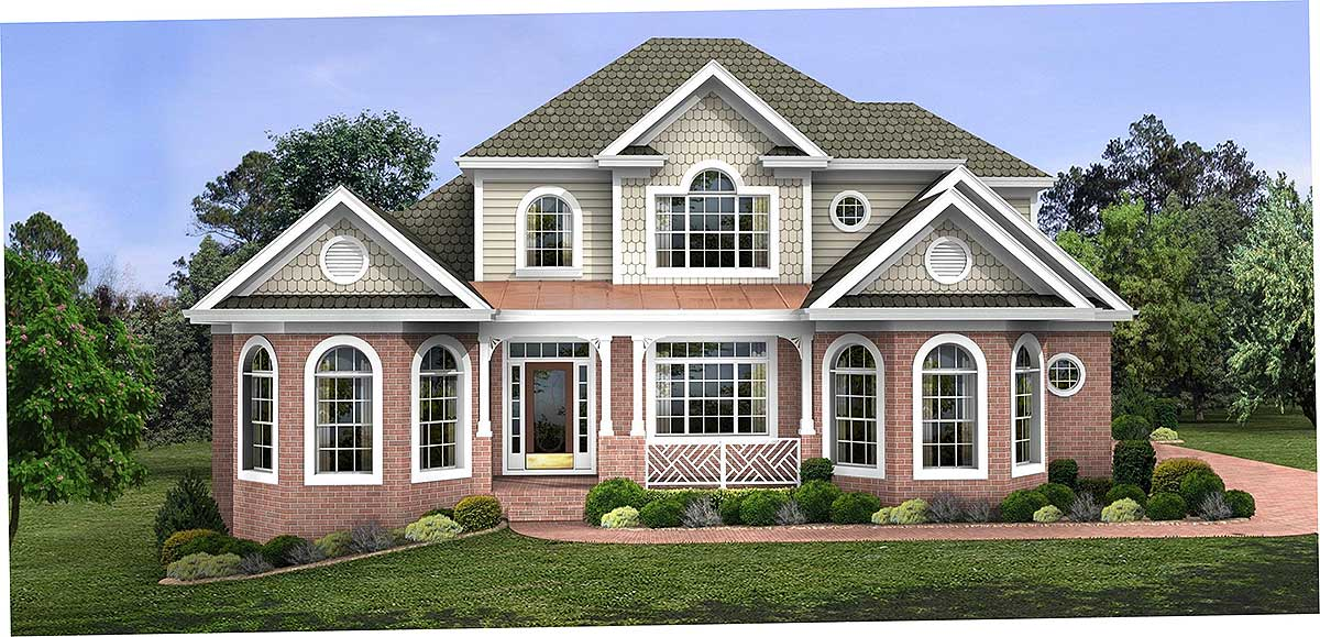 Charming country home plan 2066ga architectural for Charming house plans