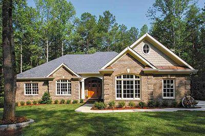brick home designs. Classic Brick Ranch Home Plan  2067GA Thumb 02 Architectural Designs