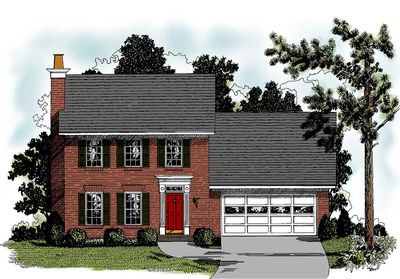 Three Bedroom Starter Home Plan - 2076GA thumb - 01