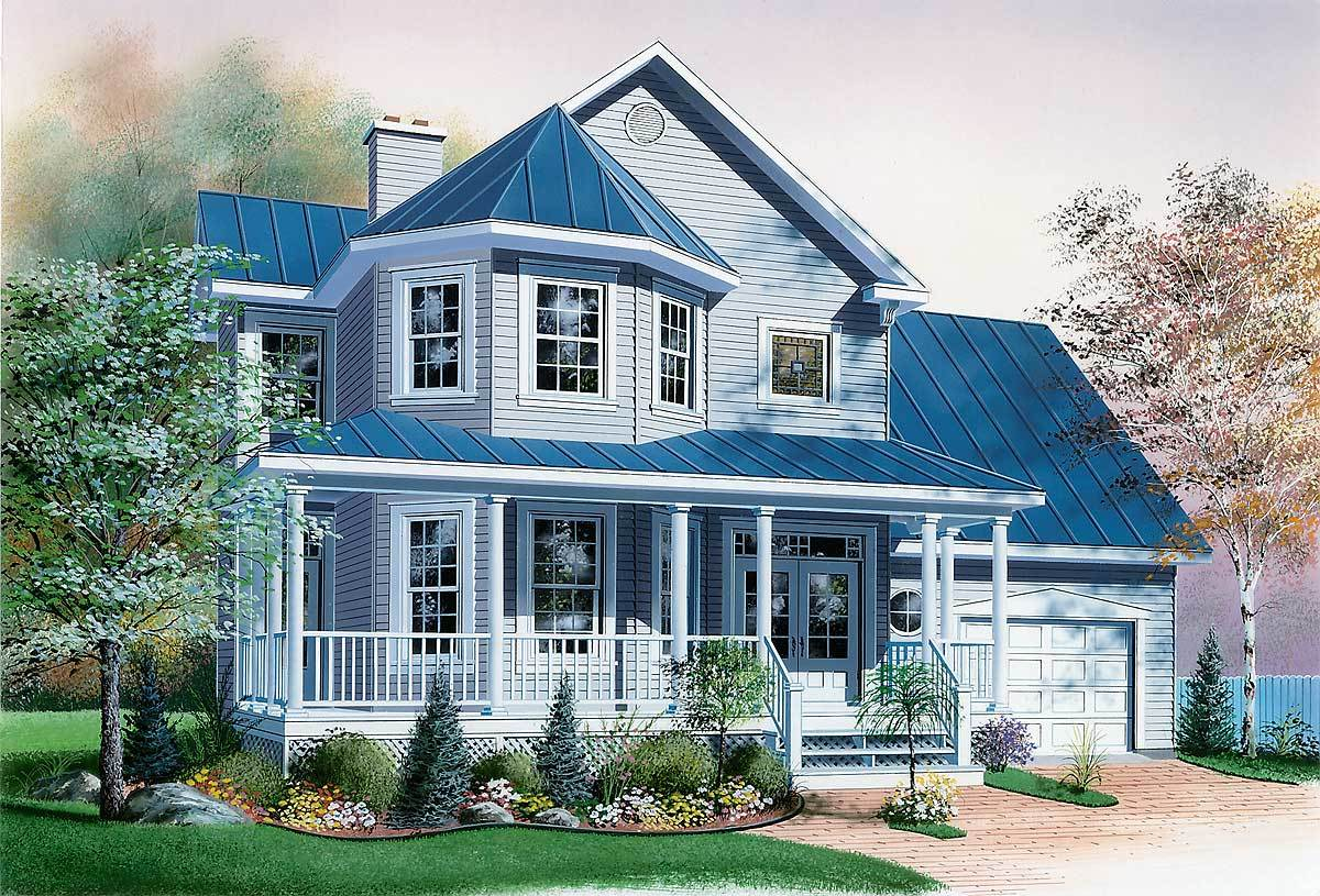 Compact guest house plan 2101dr architectural designs for Home designs architecture